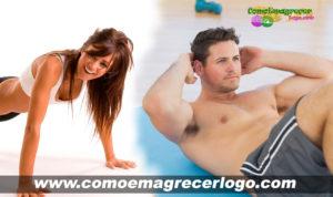 Exercícios para secar barriga rapidinho
